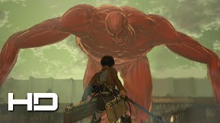 Download ATTACK ON TITAN (PS4) Eren VS The Colossal Titan Secret ENDING - Walkthrough Gameplay Cutscene Video
