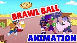 Download Brawl Stars Animation   Sakura Spike in Brawl Ball mode Video