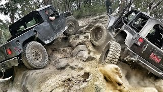Download American 4x4 Trucks in Oz - Hummer vs Jeep - Nitto Challenge Video