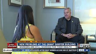 Download Employees shed light on growing health concerns at Grant Sawyer Building Video
