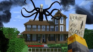 Download GIANT SLENDERMAN APPEARS IN MY HOUSE IN MINECRAFT !! Minecraft Mods Video