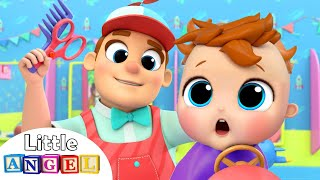 Download Baby's First Haircut | Nursery Rhymes and Kids Songs by Little Angel Video