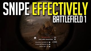 Download How To Be An Effective Sniper in Battlefield 1 Video