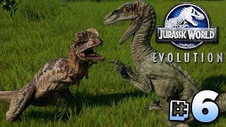 Download Raptor Vs Dilophosaurus! - Jurassic World Evolution | Ep6 Video