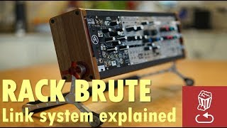 Download RackBrute review: Link system explained on the new Arturia Rack Brute Video