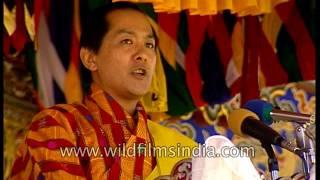 Download Fourth King of Bhutan - Druk Gyalpo Jigme Singye Wangchuck speaks to the nation Video