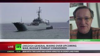 Download 'West can't live without enemies': Swedish general warns of 'upcoming war' Video