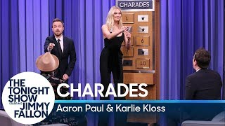 Download Charades with Aaron Paul and Karlie Kloss Video