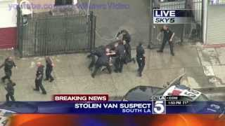 Download Wild Police Chase - South Los Angeles, CA - April 30, 2013 Video