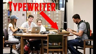 Download Typewriter in the Library Prank! Video