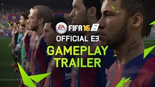 Download FIFA 16 Official E3 Gameplay Trailer - PS4, Xbox One, PC Video