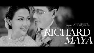 Download Richard and Maya: Be Careful With My Heart Wedding Video