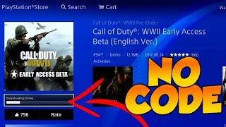 Download Call Of Duty: WWII BETA - Download For FREE!!! (NO CODE & NO MONEY) Video