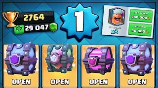 Download LEVEL 1 PLAYER ALL CHEST OPENING! | Clash Royale | LEGENDARY & SUPER MAGICAL CHEST OPENING! Video