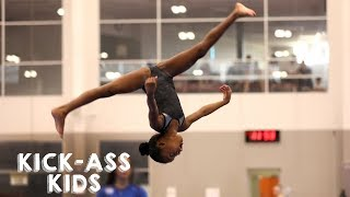 Download 10 Year Old Gymnast Set To Become Olympic Star | KICK-ASS KIDS Video
