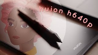 $50 Graphic Tablet with 8192 levels - Huion H640P Review