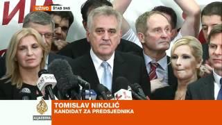 Download Govor Tomislava Nikolića nakon izbora - Al Jazeera Balkans Video