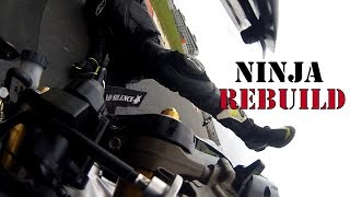 Download Wrecked Bike Rebuild - How to Crash and Rebuild a 2003 Kawasaki ZX6R B1H 636 Video
