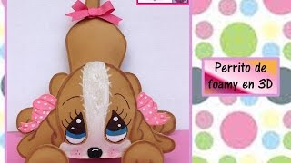 Download ♥Perrito de foamy en 3D♥-♥♥CREACIONES mágicas♥♥ Video