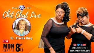 Download Diamond and Silk ″Chit Chat Live″ | Guest, Dr. Alveda King Video