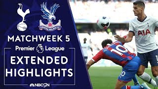Download Tottenham Hotspur v. Crystal Palace | PREMIER LEAGUE HIGHLIGHTS | 9/14/19 | NBC Sports Video