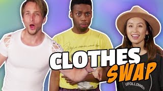 Download EXTREME CLOTHES SWAP CHALLENGE (Squad Vlogs) Video