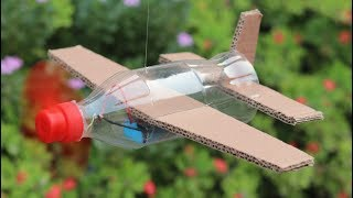 Download How To Make Flying Airplane Using Cardboard and Coke Bottle Video