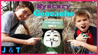 Download Surprise Mystery Hidden Treasure Geocaching In Real Life 2018 / Jake and Ty Video