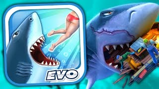 Download MEGALODON - Hungry Shark Evolution - Part 7 (iPhone Gameplay Video) Video