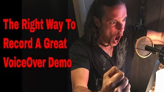 Download Recording A TV Promo Voiceover Demo with Stew Herrera | Voice Acting | How To | Demo Reel Video