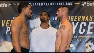 Download FULL WEIGH-IN: Joe Joyce Searches For Win Five | David Haye card Video