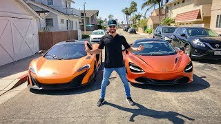 Download RACING MY MCLAREN 675LT VS THE 720S! Video