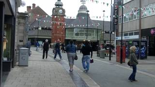 Download Bangor City Centre, Wales. Video