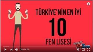 Download Türkiye'nin En İyi 10 Fen Lisesi | 2017 Video