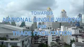 Download Towards National Single Window for Trade Facilitation: UNNExT Single Window Implementation Toolkit Video