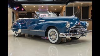 Download 1948 Buick Roadmaster Convertible For Sale Video
