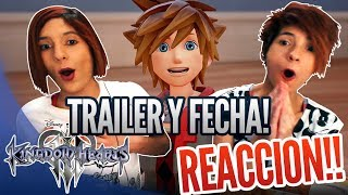 Download KINGDOM HEARTS 3 D23 TRAILER - REACCION y FECHA DE LANZAMIENTO | Release date - Español - Reaction Video