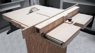 Download Homemade Table Saw Fence Mechanism Video
