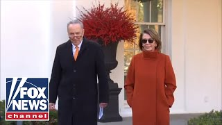 Download Pelosi and Schumer speak after meeting with Trump Video