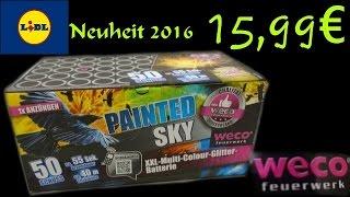 Download Weco (PAINTED SKY Batterie) Neuheit 2016/ 15,99€€ Lidl Video