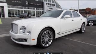 Download 2013 Bentley Mulsanne Mulliner Start Up, Exhaust, and In Depth Review Video