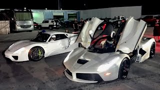 Download $3,000,000 DRAG RACE - LaFerrari vs Porsche 918! Video