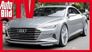 Download Exklusive First Drive Audi A9 Concept Prologue - Fahrbericht/ Review/ Test / Probefahrt Video
