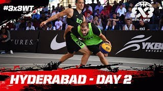 Download RE-LIVE - FIBA 3x3 World Tour 2018 - Hyderabad Masters | Day Two Video