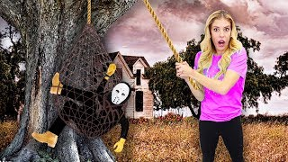 Download Rebecca Zamolo Finally Trapped the GAME MASTER in Real Life! (Spy Gadgets and Mystery Clues Found) Video