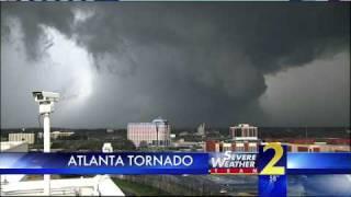 Download Atlanta Tornado(?) caught live on WSB-TV High Definition Towercam Video