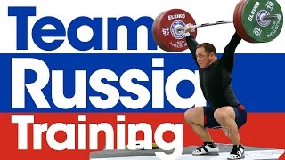 Download Team Russia Training 2015 World Weightlifting Championships Video