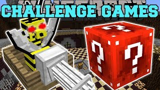 Download Minecraft: FLOAT BEE GUNNER CHALLENGE GAMES - Lucky Block Mod - Modded Mini-Game Video