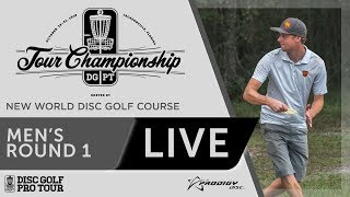 Download 2018 Disc Golf Pro Tour Championship - MPO Round One Video