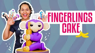 Download How To Make A MIA FINGERLINGS MONKEY Out Of Vanilla CAKE & Fondant   Yolanda Gampp   How To Cake It Video